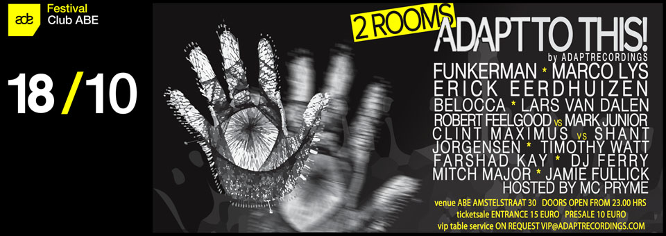 Catch our label head DJ Ferry playing @ Amsterdam Dance Event 2014!